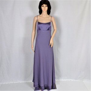 ALFRED ANGELO size 14 Victorian lilac formal gown
